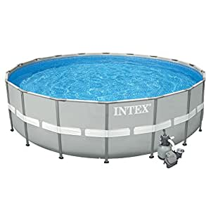 intex 26 39 x 52 ultra frame above ground swimming pool patio lawn garden. Black Bedroom Furniture Sets. Home Design Ideas