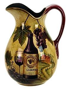Benzara 69904 Ceramic Pitcher a Home and Restaurant Decor