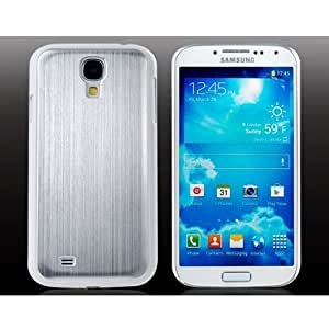 Metal Wire Drawing Shell for Samsung Galaxy S4/i9500 Phones (Silver)