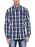 PAUL STRAGAS Camisa Hombre (Azul Marino)
