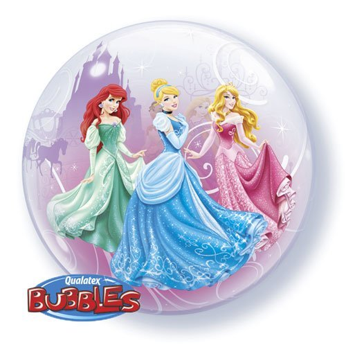 "22"" Princess Royal Debut Character Bubble Balloons - 1"