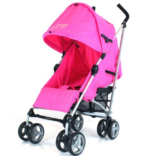 zeta-vooom-pink-free-rain-cover-baby-stroller-with-large-shade-maker-sun-canopy-ideal-for-holidays