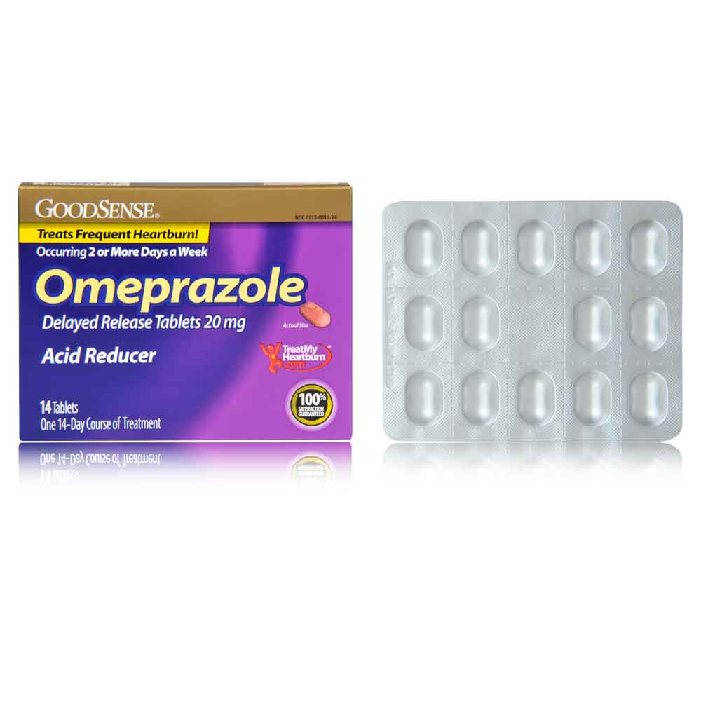 Omeprazole 20 mg tablet