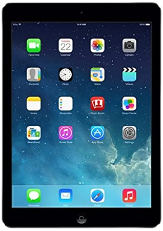 """Apple Air Wi-Fi 64GB Tablette Tactile 9.7 """" iOS Gris (Import - clavier non AZERTY)"""