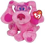 TY Magenta Beanie Baby from Blue's Clues