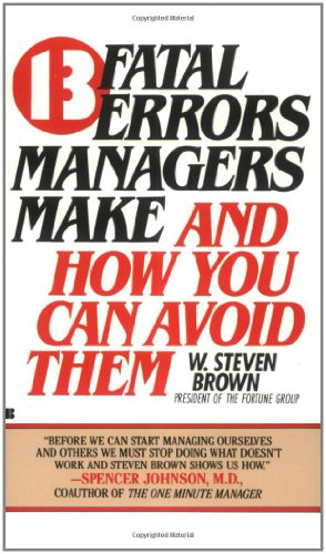 13 fatal errors managers make and how you can avoid them (How 13 compare prices)