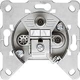 Hirschmann EDS 322 F 3-fach Antennen-Einzeldose Twin-SAT