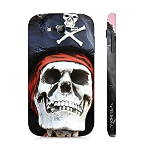 Samsung Galaxy Grand Skull Pirate designer mobile hard shell case by Enthopia
