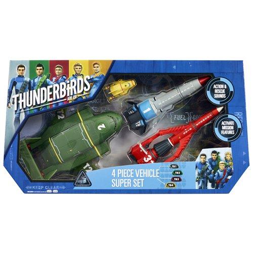 Thunderbirds - Set di 4 super veicoli