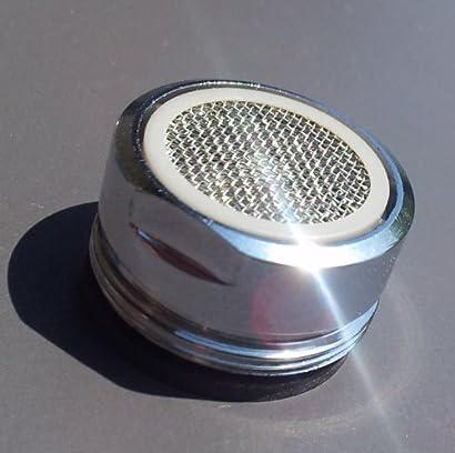 Wassersparaufsatz silber ca Kunststoff 13,5 cm