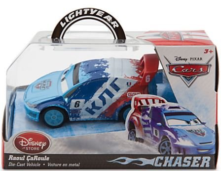 Disney Cars CHaser Raoul CaRoule 1:43 Die-Cast Vehicle - 1