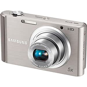 Samsung ST76 16 MP Compact Digital Camera - Silver (EC-ST76ZZBPSUS)