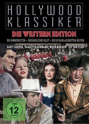 Western Edition, Vol. 1 (Die Unbesiegten/Gefährliches Blut/Die scharlachroten Reiter) (3 Disc Set) [Collector's Edition]