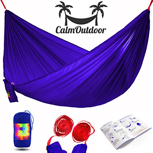 premium-double-camping-hammock-lightweight-and-strong-portable-parachute-hammock-bed-free-long-16-ft