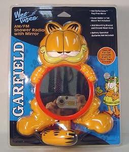 Garfield G8SR Shower Radio with Fog Free Mirror