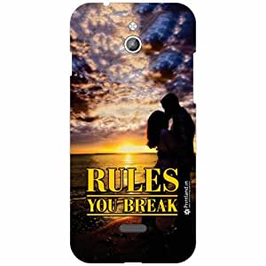 Infocus M2 Back Cover - Silicon Rules Designer Cases