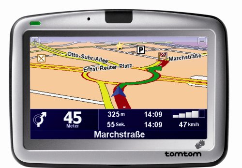 Tomtom Go 510 PNA Navigation mit Central Europa