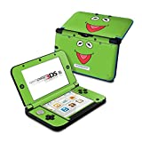 Kermit Face Design Protective Decal Skin Sticker for Nintendo 3DS XL (2014)(High Gloss)