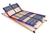 stabiler Lattenrost 100% BUCHE - Kopf- und Fußteil verstellbar -