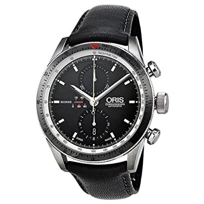 Oris Artix GT Chronograph Automatic Black Dial Mens Watch 674-7661-4154LS