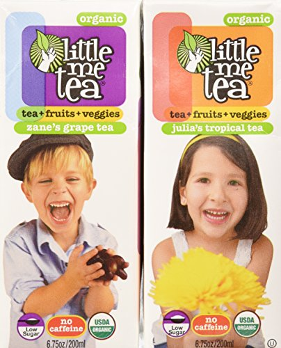 Little Me Tea Single-Serve Tea, Tropical and Grape, 30 Count (Grape Tea compare prices)