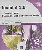 echange, troc Didier Mazier Jean-Noël Anderruthy - Joomla! 1.5 - Coffret de 2 livres: Créez un site Web avec du contenu Flash
