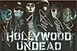 Hollywood Undead band REPRINT signed 8x12 poster photo