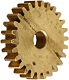 Boston Gear Spur Gear, 14.5 Pressure Angle, Brass, Inch, 32 Pitch