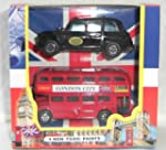 London City Bus and London Taxi toy v...