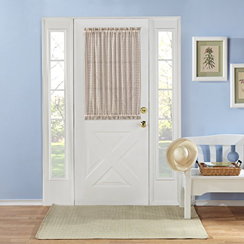 Top 5 best door window curtain for sale 2016 product for Front door window curtains