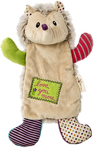 Mary Meyer Natural Life Baby Happy Hugs Blanket, Hedgehog
