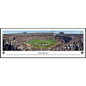 NFL Oakland Raiders Framed Panoramic Stadium Photo by Blakeway Worldwide Panoramas