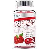Forza Raspberry Ketone 2:2:1 Pot de 90 capsules amincissantes aux cétones de framboise pures