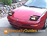 Ford Probe Custom Headlight Faceplate Modification