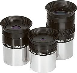 7.5mm 12.5mm 20mm Set Sirius Plossl Eyepieces