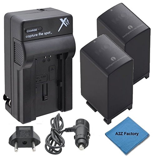 2 Pack High Capacity (2900 Mah) Canon Bp828 Replacement Battery & Charger Kit For Canon Hf G30, Xa20, Xa25 High Definition Camcorders. Fully Decoded! The Battery Replaces Canon Part Number Bp-828, Bp828, Bp-820, Bp820, 8598B002