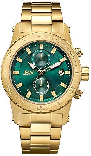 Acero inoxidable reloj Hudson JBW crotalo - oro