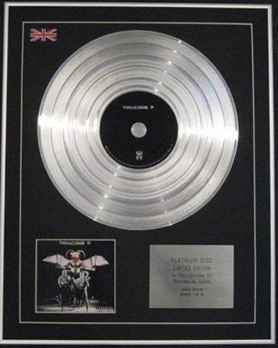 TENACIOUS D-Ltd Platinum Edition CD a disco