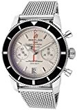 Breitling Superocean Heritage Chronograph 44 Automatic Silver Dial Mens Watch A2337024-G753