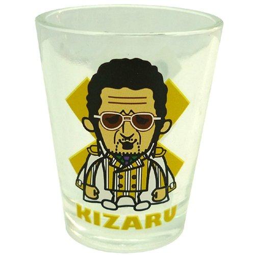 ワンピース×PansonWorks《海軍/黄猿ボルサリーノ大将》ショットグラス(ガラス製)☆アニメキャラクターお酒グラス通販☆