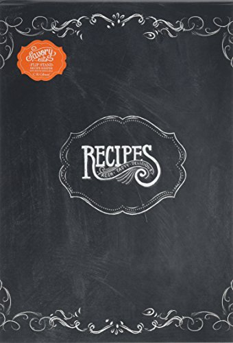 C.R. Gibson Vertical Recipe Keeper Flip Stand, Savory Eats (Recipe Collection Book compare prices)