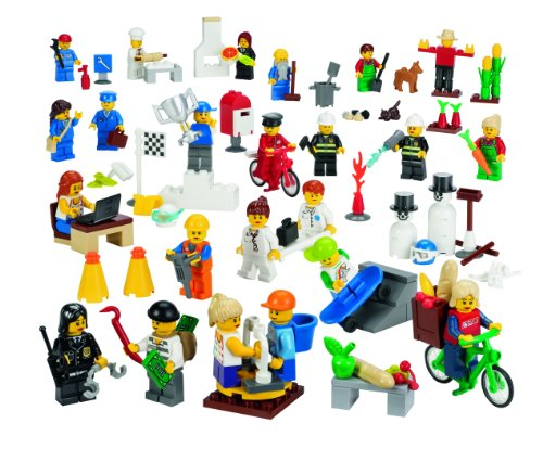 516AxamBzyL LEGO Education Community Minifigures Set 779348 (256 Pieces)