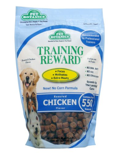 Cardinal Laboratories Botanic Training Rewards Treats for Dogs, Chicken, 20-Ounce