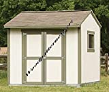 10 X 8 GABLE UTILITY STORAGE SHED