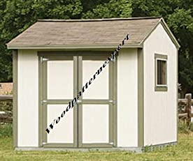 Build Your Own 10 X 8 GABLE UTILITY STORAGE SHED BUILDING HOUSE Pattern DIY PLANS; So Easy, Beginners Look Like Experts; PDF Download Version so you can get it NOW!