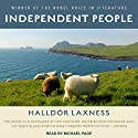 Independent People Audiobook by Halldór Laxness Narrated by Michael Page