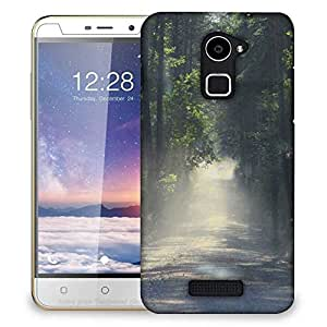 Snoogg Dense Road Designer Protective Phone Back Case Cover For Coolpad Note 3 Lite