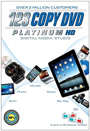 123 Copy DVD Platinum - 2012