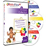 BabyFirstTV Presents 3 DVD Collection Set 1 ~ n/a