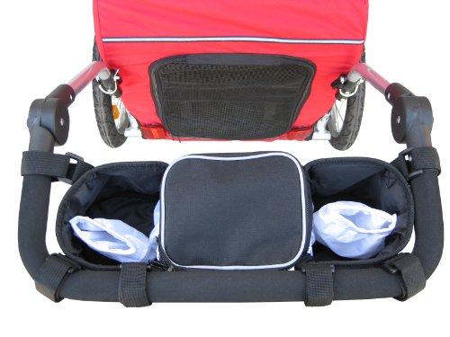 Single Universal Stroller Organizer By Booyah front-638797